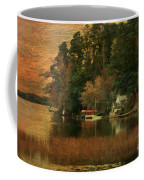 Vermont Autumn Shoreline Coffee Mug