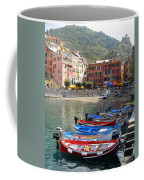 Vernazza's Harbor Coffee Mug