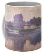 Vernon Church In Fog Coffee Mug