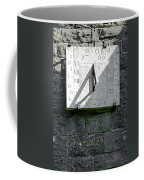Vertical Sundial On Fenny Bentley Church Coffee Mug