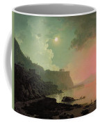 Vesuvius From Posillipo Coffee Mug by Joseph Wright of Derby