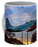 Vfw F-80 Shooting Star Coffee Mug