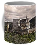 Vianden Castle - Luxembourg Coffee Mug by Juergen Weiss