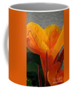 Vibrant Canna Coffee Mug