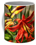 Vibrant Crocosmia Coffee Mug