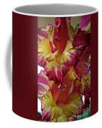 Vibrant Gladiolus Coffee Mug by Susan Herber