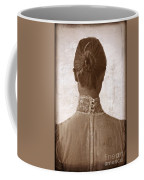 Victorian Lady From Behind Coffee Mug