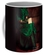 Victorian Lady With Letters Coffee Mug