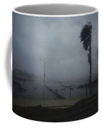 View From A Vehicle Of Hurricane Allen Coffee Mug
