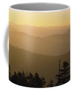 View From Clingmans Dome Coffee Mug