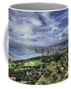 View From Diamond Head Coffee Mug