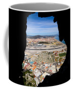 View From Inside Of The Gibraltar Rock Coffee Mug