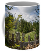 View From Picket Fence Coffee Mug