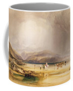 View From Snowdon From Sands Of Traeth Mawe Coffee Mug
