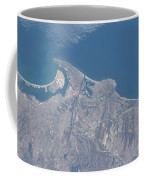View From Space Of San Diego Coffee Mug