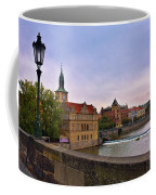 View From The Charles Bridge Revisited Coffee Mug by Madeline Ellis
