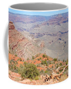 View From The South Kaibab Trail II Coffee Mug