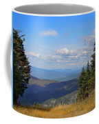 View From Top Of Cannon Mountain Coffee Mug