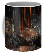 View Inside Kaumana Lava Tube, Hawaii Coffee Mug