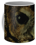 View Of A Northern Spotted Owl Strix Coffee Mug by Joel Sartore