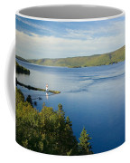 View Of Boulardarie Island From Seal Coffee Mug