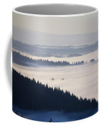 View Of Fog-covered Willamette Valley Coffee Mug