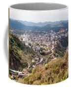 View Of Katra Township While On The Pilgrimage To The Vaishno Devi Shrine In Kashmir In India Coffee Mug