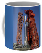 View Of Launch Pad 14 During Prelaunch Coffee Mug