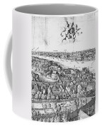 View Of London, 1647 Coffee Mug