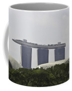 View Of Marina Bay Sands And Esplanade Building In Singapore Coffee Mug