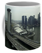 View Of Marina Bay Sands And Other Buildings From The Singapore  Coffee Mug