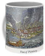 View Of Pittsburgh, 1836 Coffee Mug by Granger