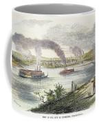 View Of Pittsburgh, 1853 Coffee Mug by Granger