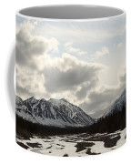 View Of Quill Creek In Kluane National Coffee Mug
