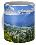 View Of Revelstoke In British Columbia Coffee Mug