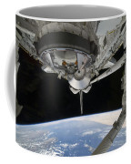 View Of Space Shuttle Discovery Coffee Mug by Stocktrek Images