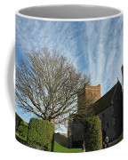View Of St Mary Church And Clouds In Dover Castle Coffee Mug