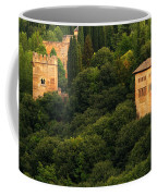 View Of The Alhambra In Spain Coffee Mug