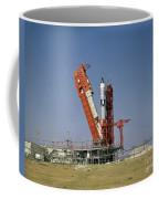 View Of The Gemini-titan 4 Spacecraft Coffee Mug