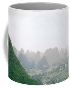 View Of The Guilin Mountains In Guangxi In China Coffee Mug