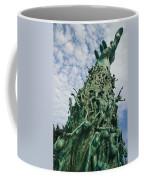 View Of The Holocaust Memorial Coffee Mug