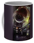 View Of The Interior Of Hagia Sophia Coffee Mug by James L. Stanfield