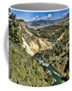 View Of The River Coffee Mug