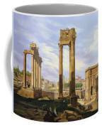View Of The Roman Forum Coffee Mug