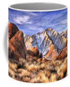View Of The Sierras Coffee Mug