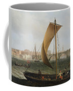 View On The Thames With Westminster Bridge Coffee Mug