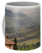 View Over The Tuscan Hills From San Gimignano Italy Coffee Mug