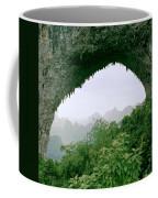 View Through Moon Hill In Guangxi In China Coffee Mug