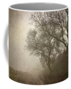 Vigilants Trees In The Misty Road Coffee Mug