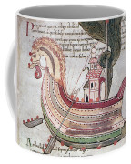 Viking Ship - 10th Century Coffee Mug